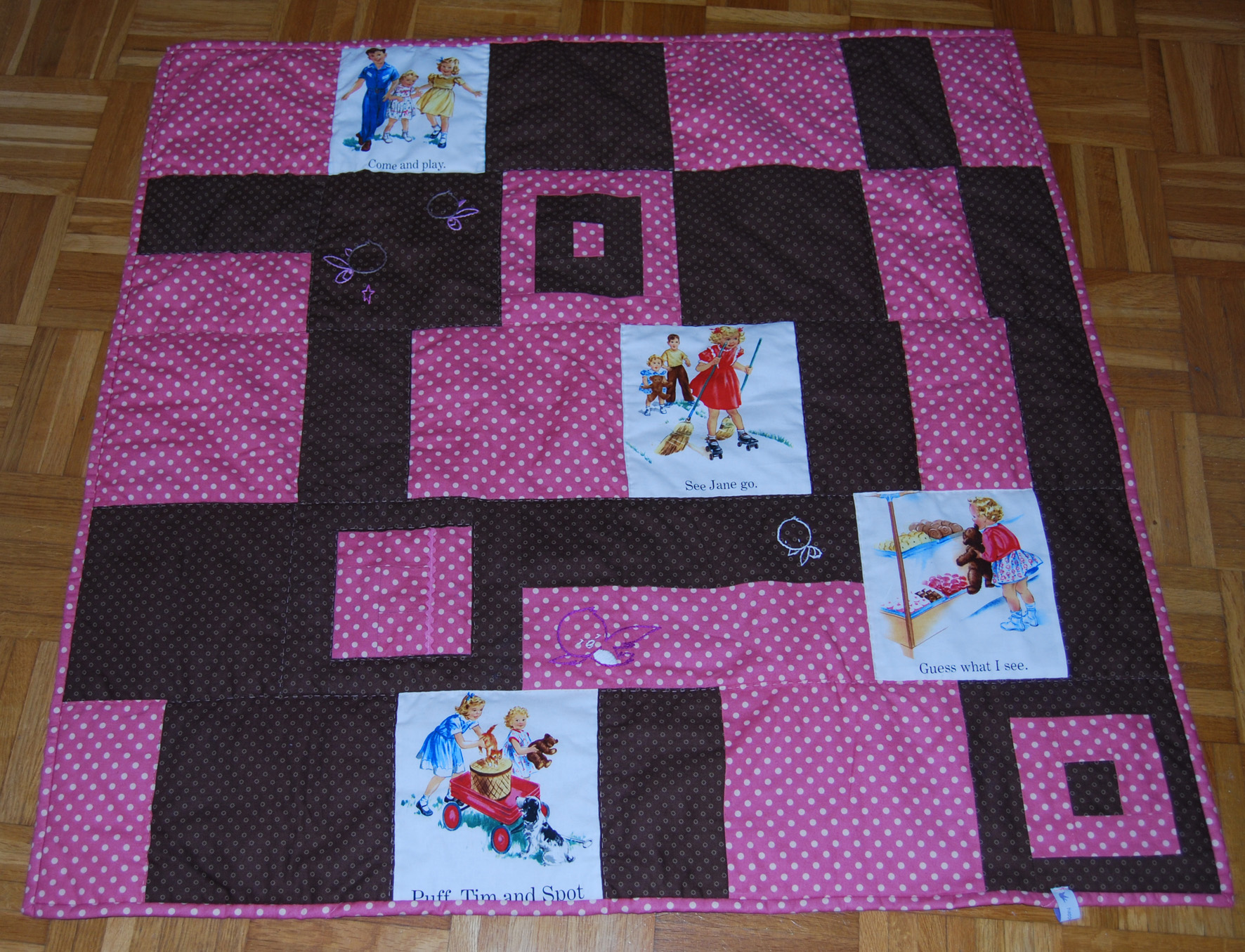 My first quilt – IT'S DONE!