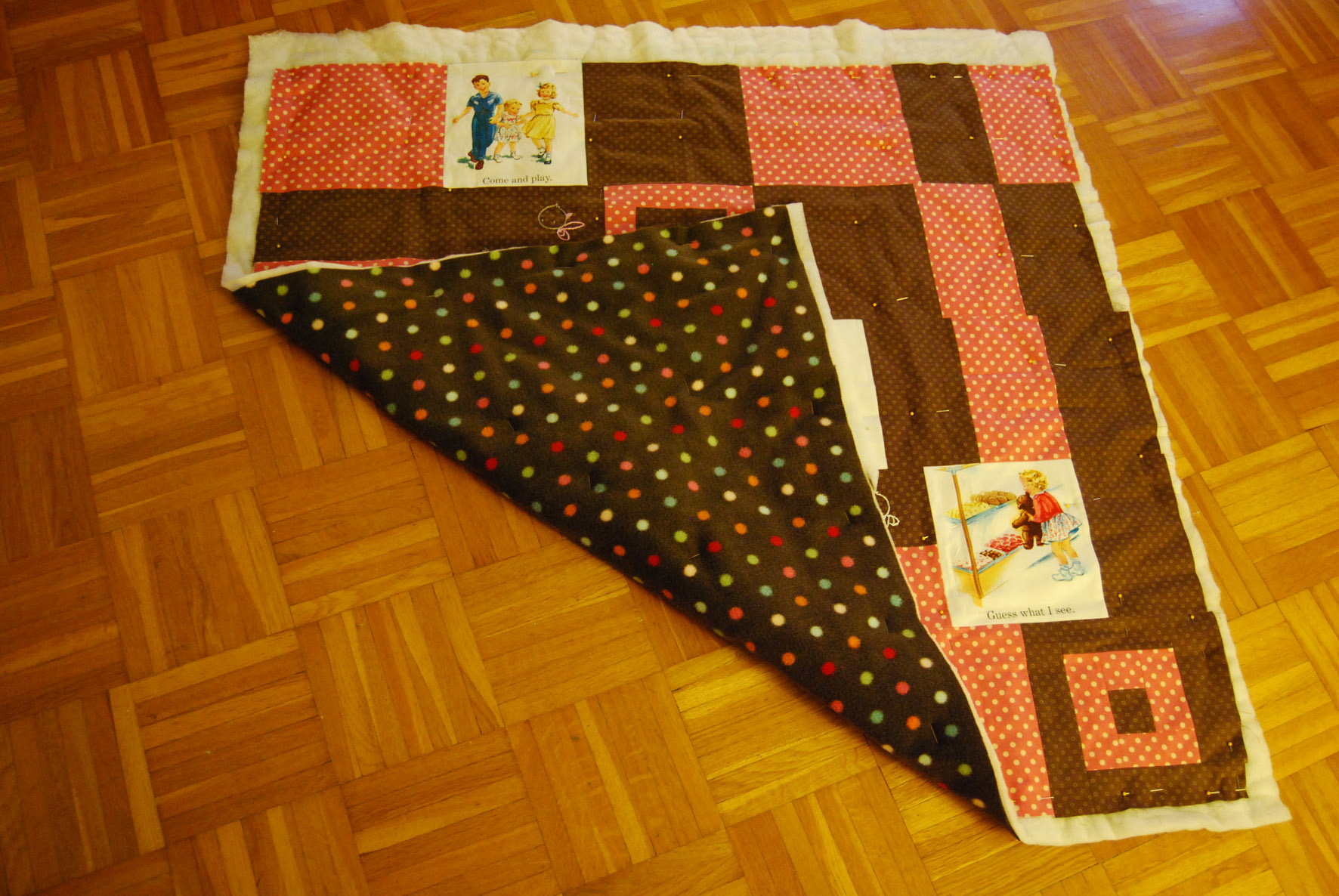 My first quilt – Part 4 – All is connected