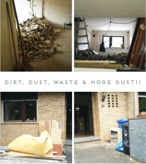 more dust