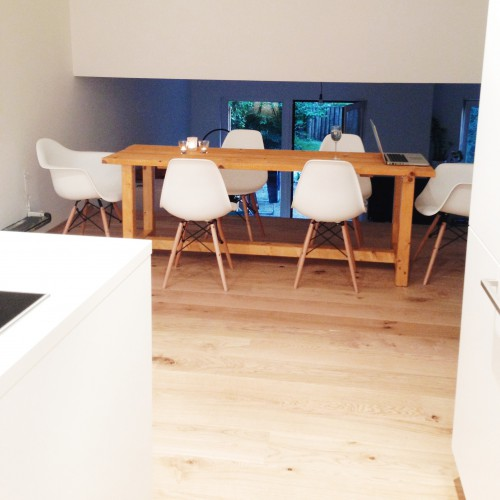 dining area from kitchen
