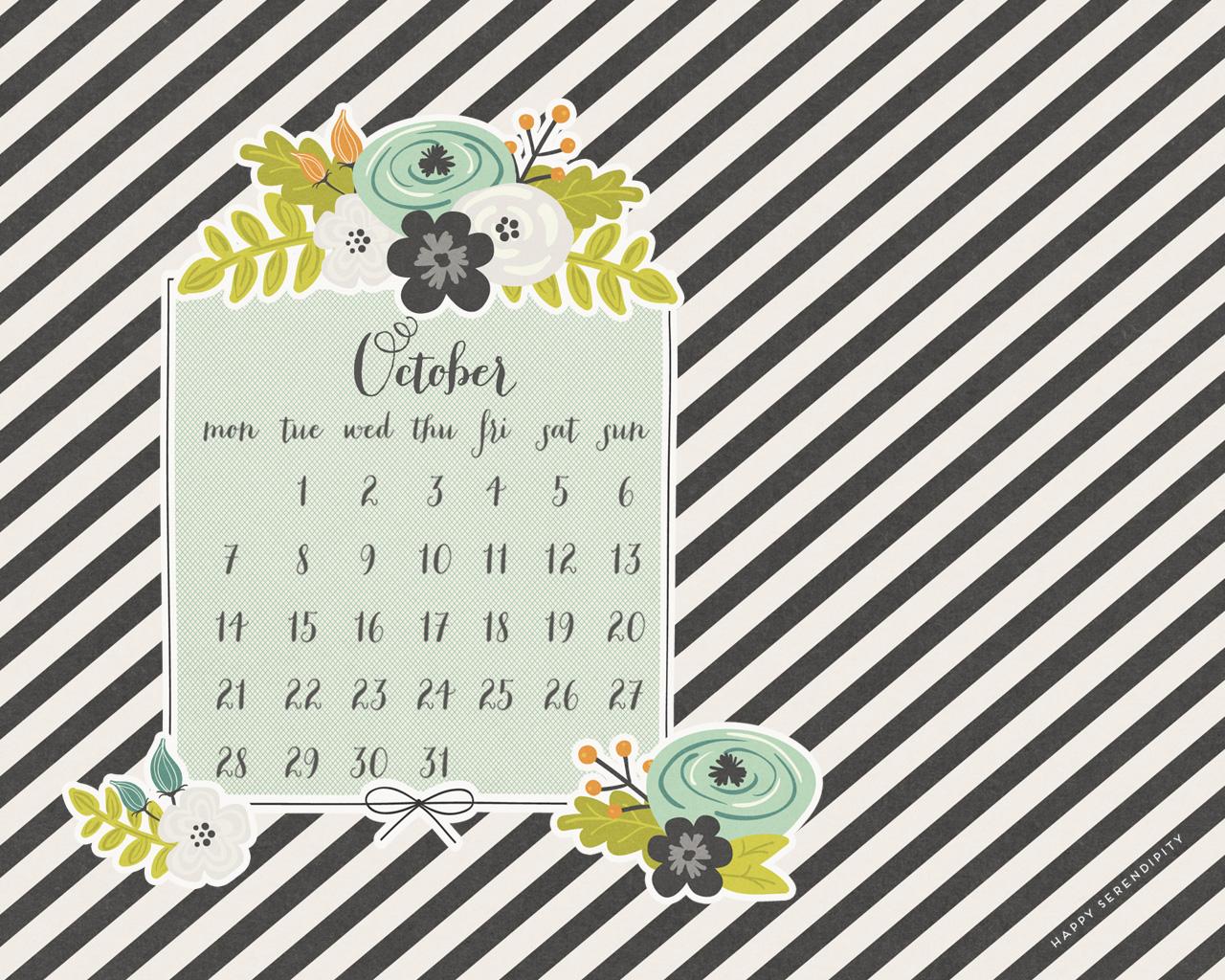 october 2013 desktop calendar