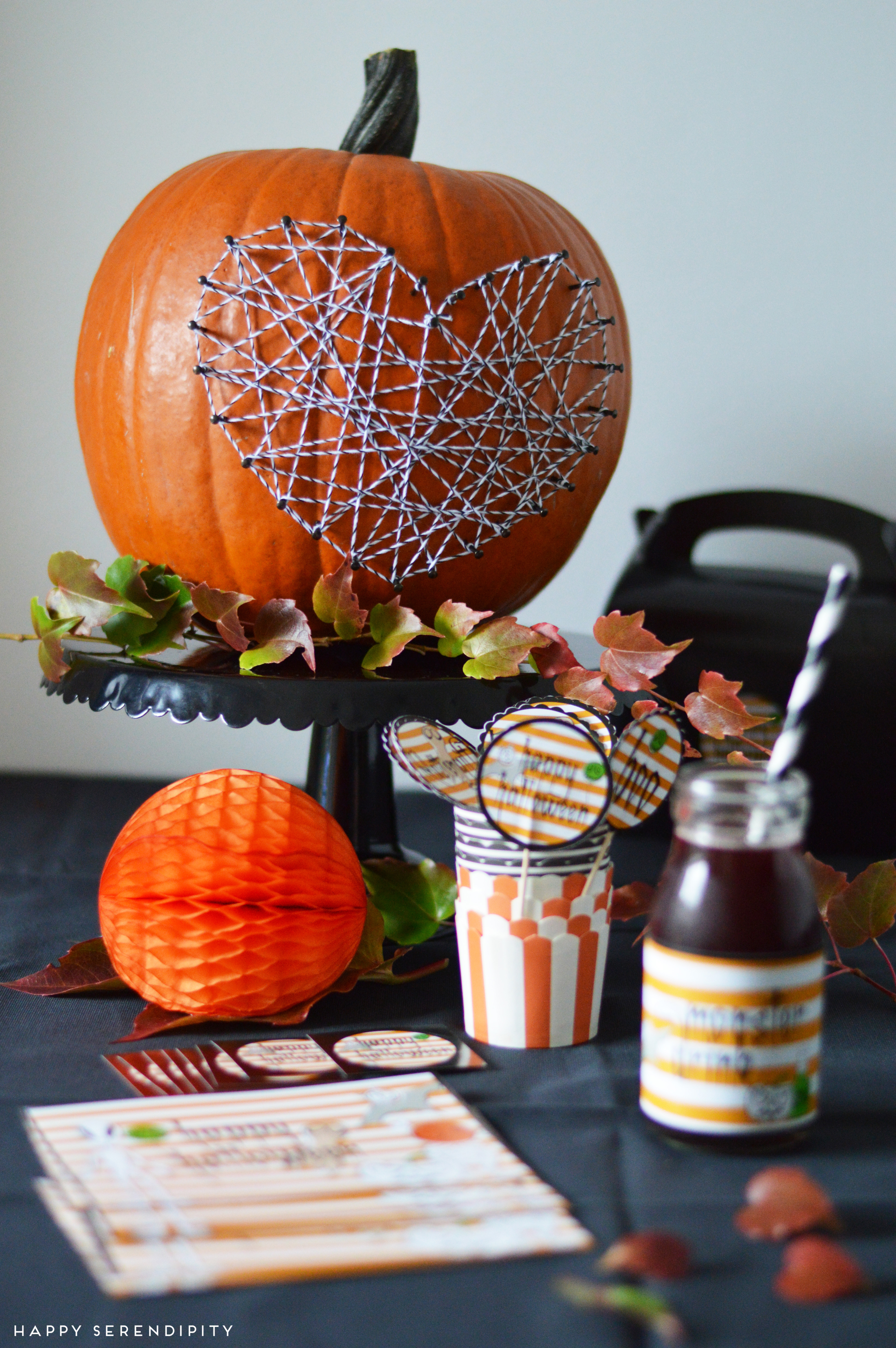 happy halloween giveaway und dekoidee