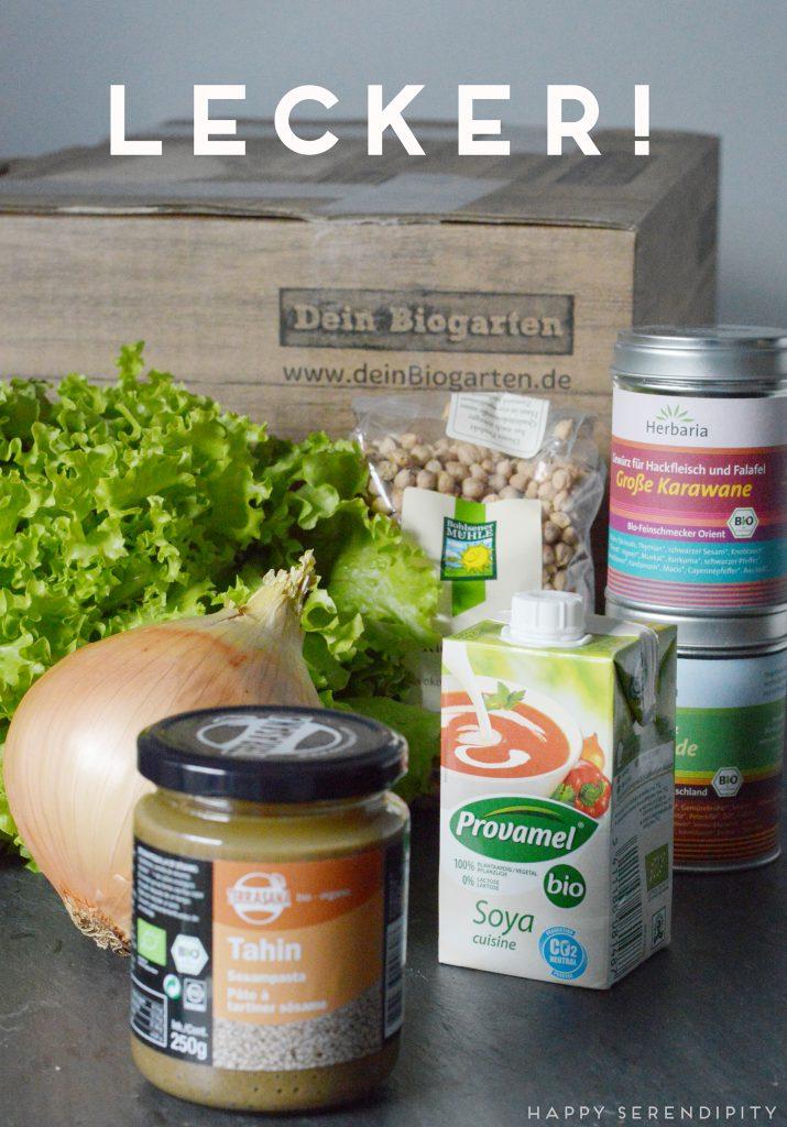 Unsere Biokiste von deinbiogarten.de