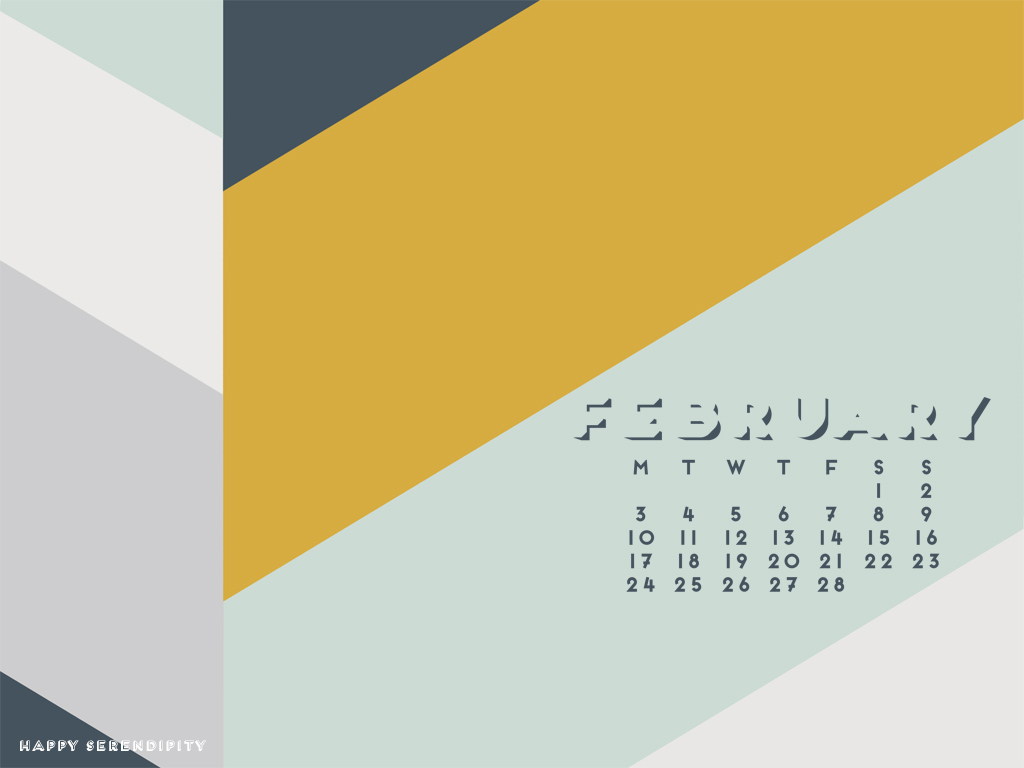 february desktop wallpaper_happy serendipity_2014