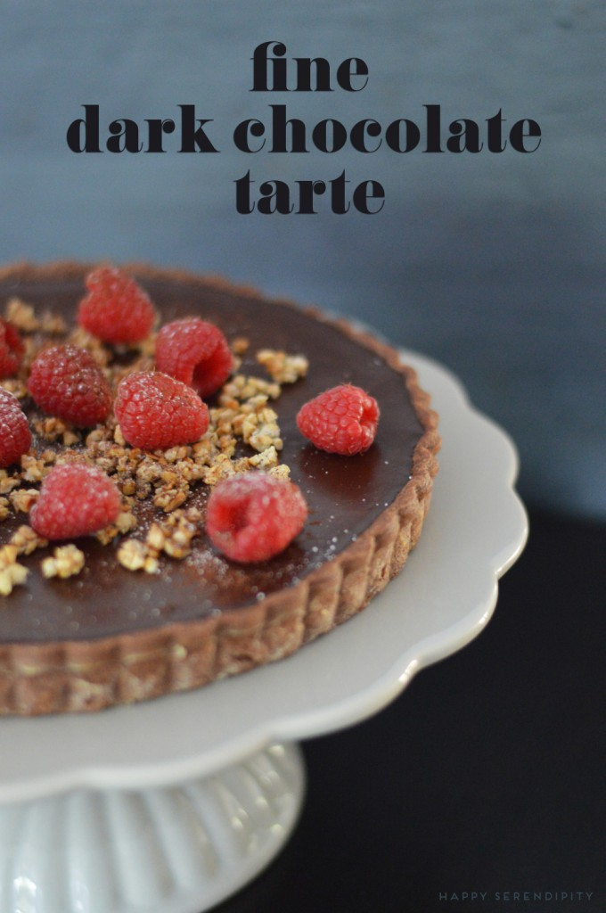 dark chocolate tarte_tarte_delicious_raspberries_1