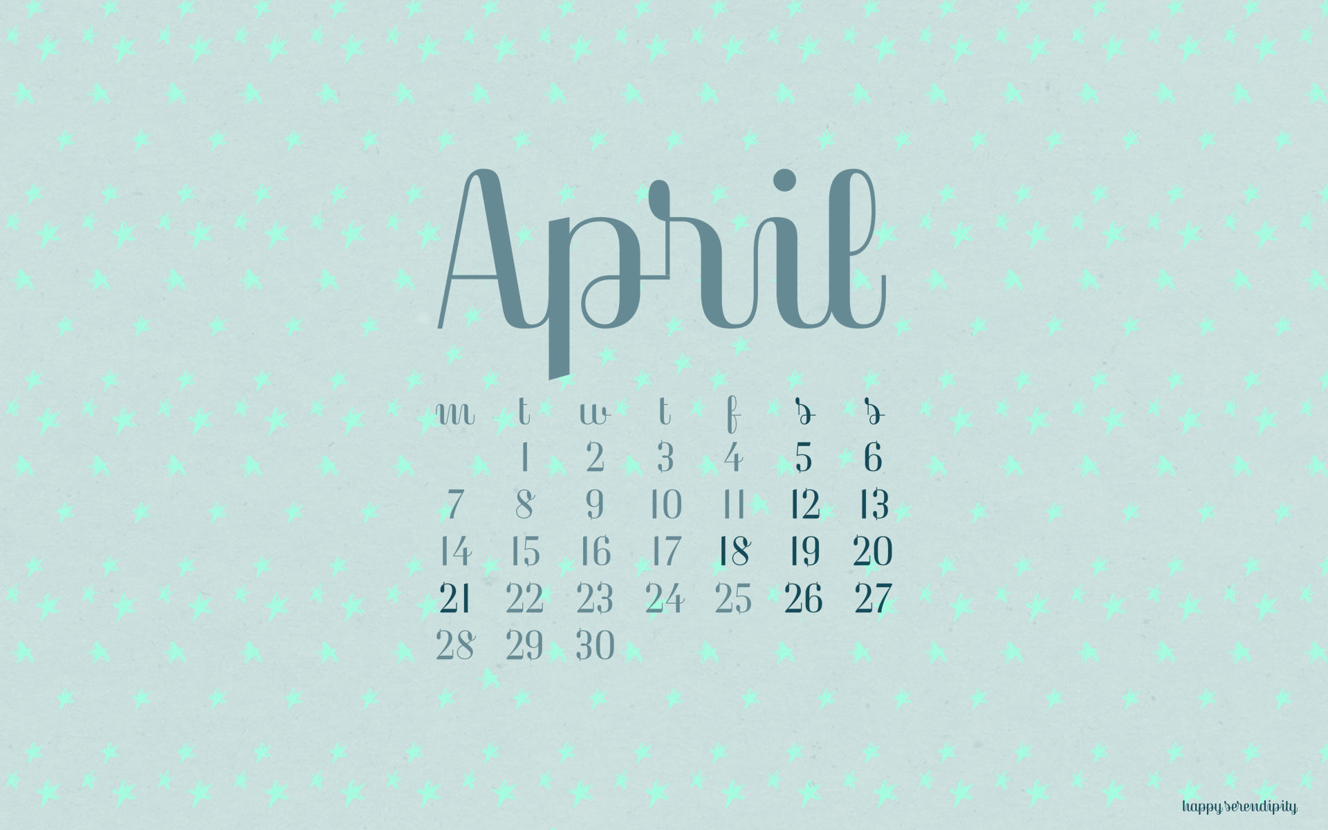 april 2014 desktop wallpaper