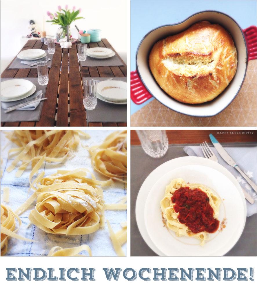 endlich wochenende_kochen mit der familie_le creuset_pain a la cocotte_homemade pasta_hausgemachte nudeln_happy serendipity