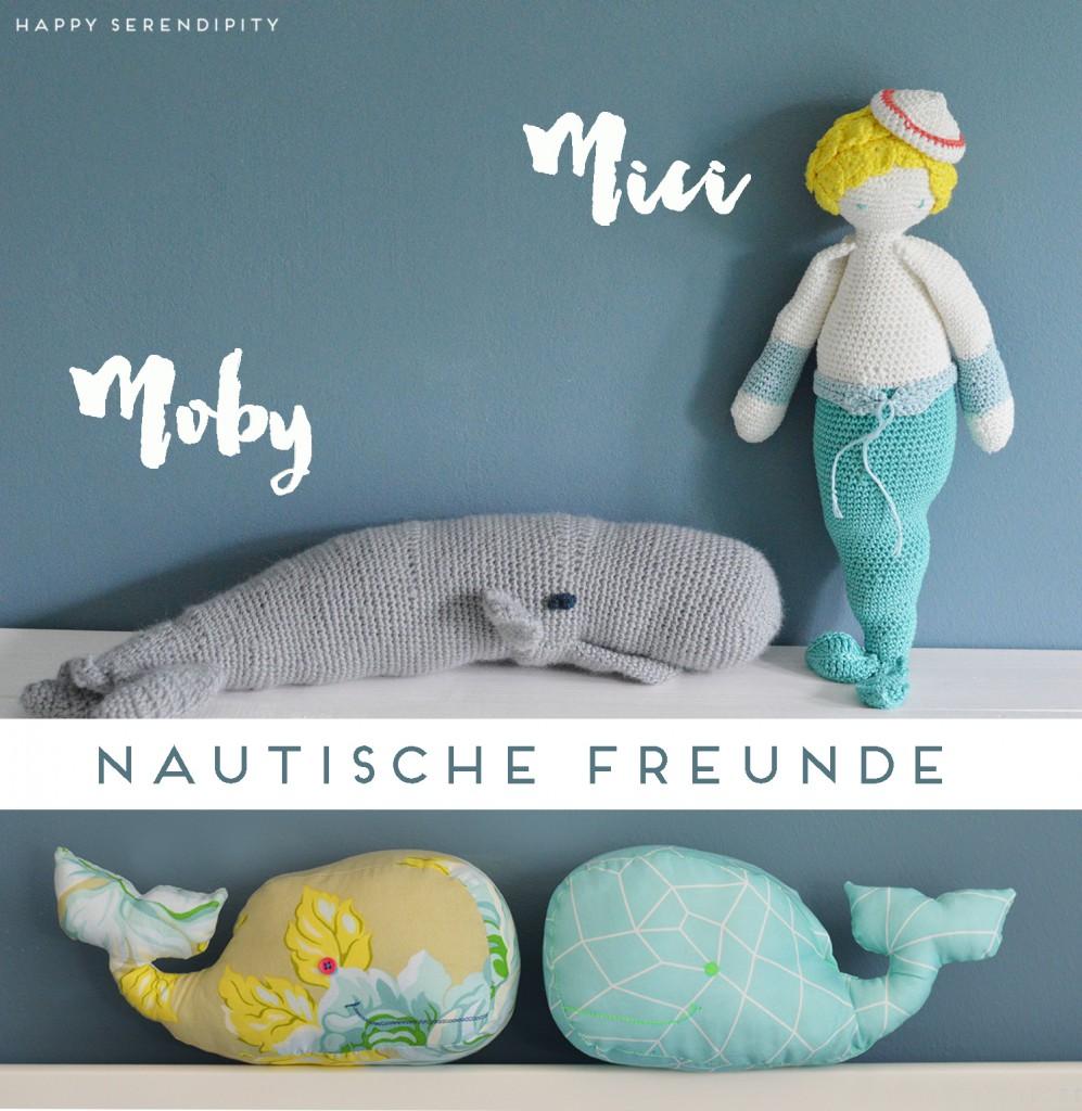 happyserendipity-kinderzimmer-nursery-nautische freunde-kuscheltiere-meerjungfrau-wal-amigurumi