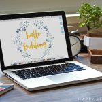 happy serendipity - hallo frühling - bildschirm hintergrund - kostenloser download