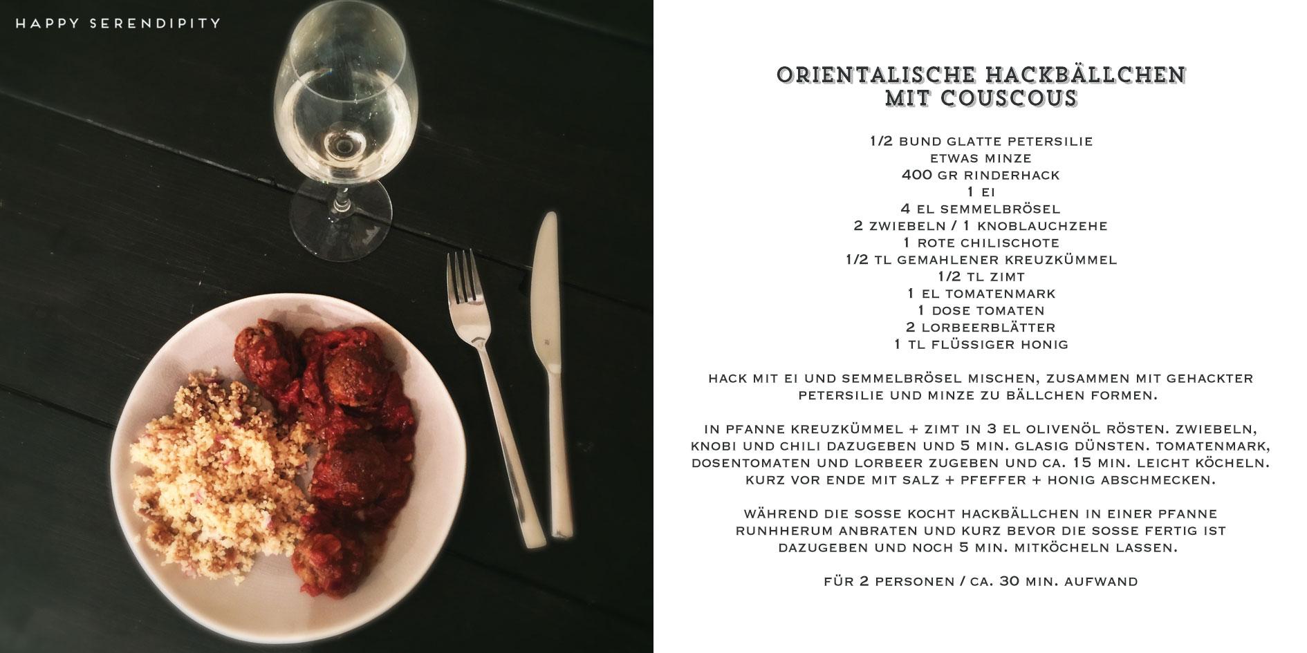 orientalische hackbaellchen, schnelle küche mit fleisch, fleisch rezepte