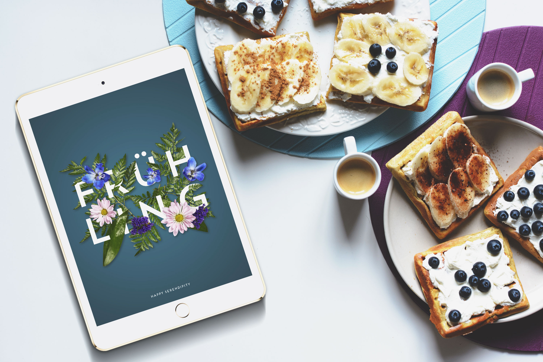 desktophintergrund der frühlingsgefühle macht, kostenloser desktop hintergrund für den frühling von happy serendipity