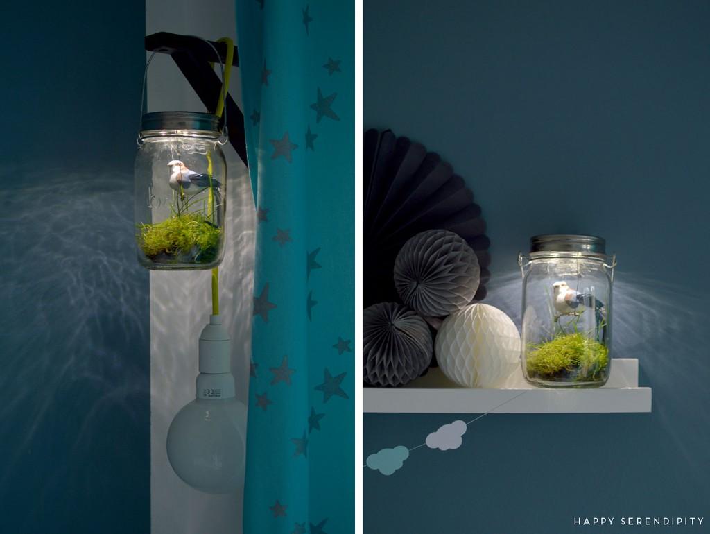 diy nachtlicht fürs kinderzimmer, bastelanleitung für ein nachtlicht, kinderzimmerdeko, gesehen auf www.happyserendipity.com