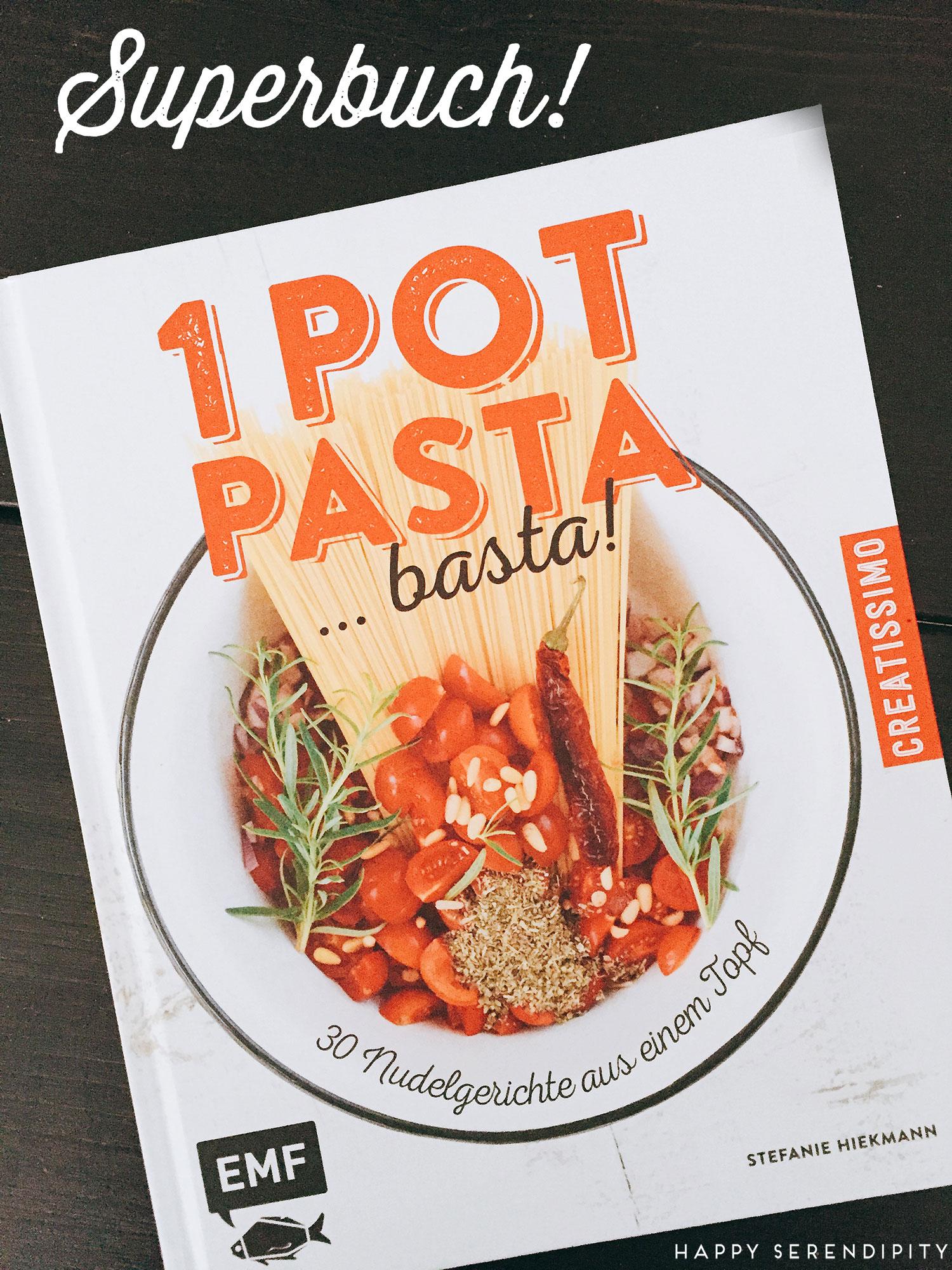 one pot pasta – ein tolles buch von stefanie hiekmann