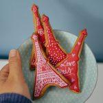 #machdeineigenescafe, #tassimo, happyserendipity, keksrezept, royal icing kekse, eiffelturm kekse