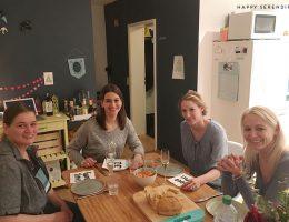 gäste der kenwood küchenparty im dezember bei happy serendipity