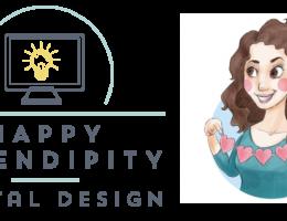 happy serendipity digital design