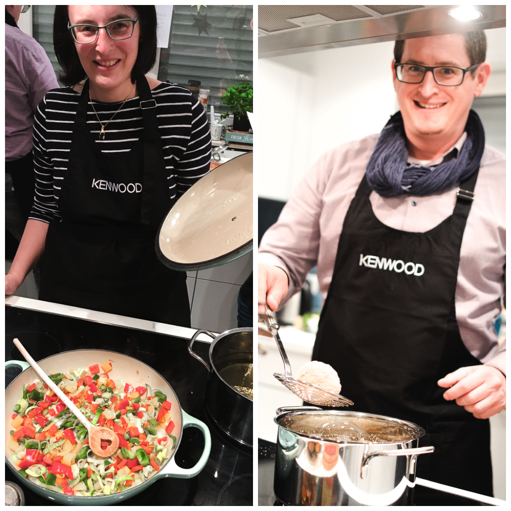 kenwood küchenparty - thema risotto