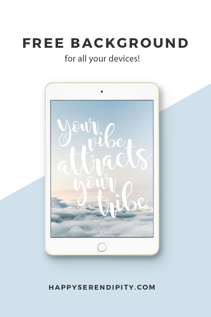 happy serendipity freebie, der kostenlose desktop wallpaper für alle geräte