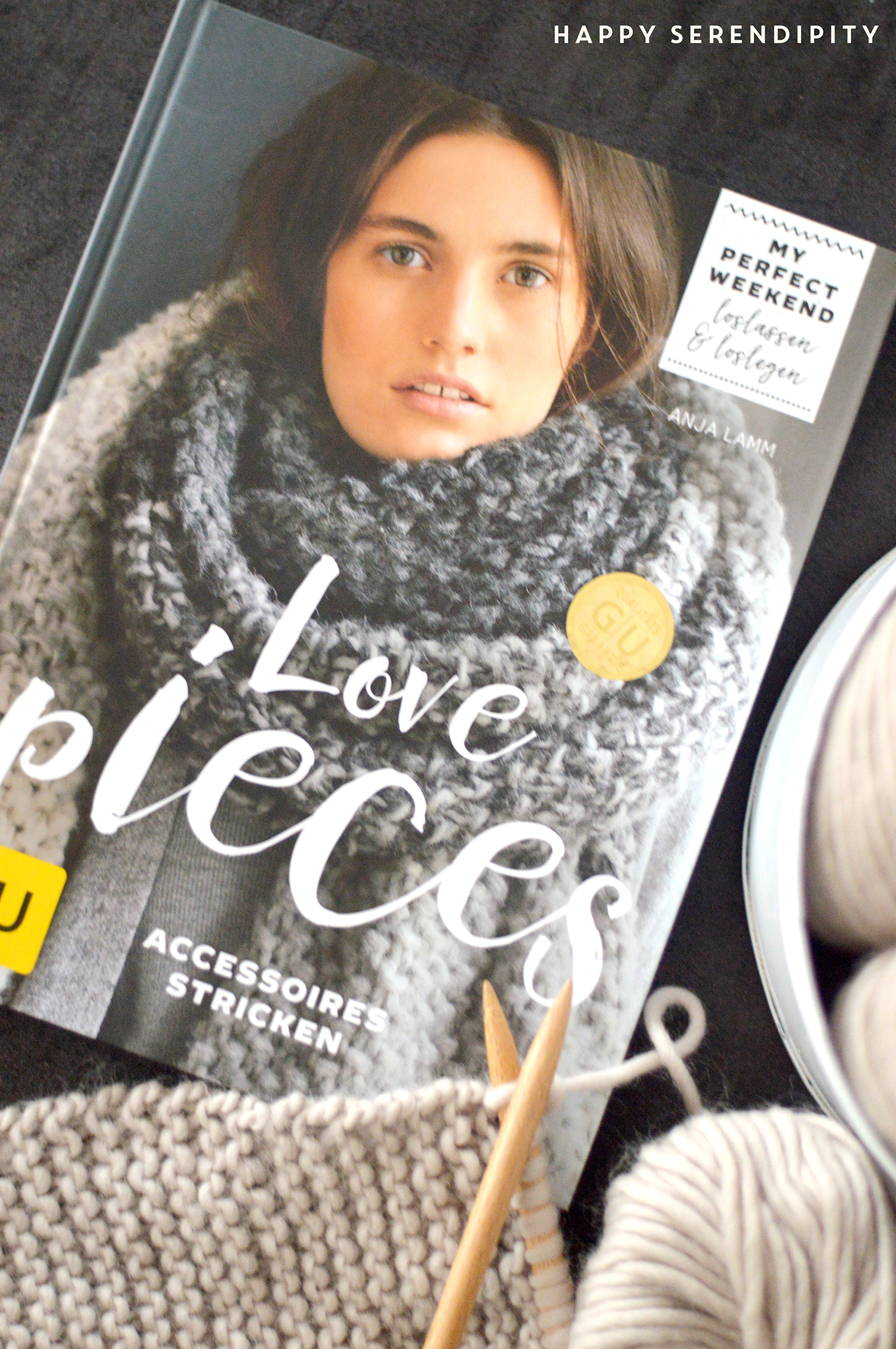 My perfect weekend - die neue Buchreiche vom GU Verlag! Starte ein Projekt und verbringe ein gemütliches und kreatives Wochenende! Eine Buchrezension von Happy Serendipity