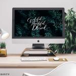 Dezember Desktop Wallpaper von Happy Serendipity