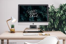 Hallo Dezember! Der finale Desktop Wallpaper diesen Jahres