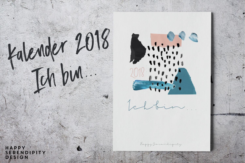 happy serendipity bildkalender 2018