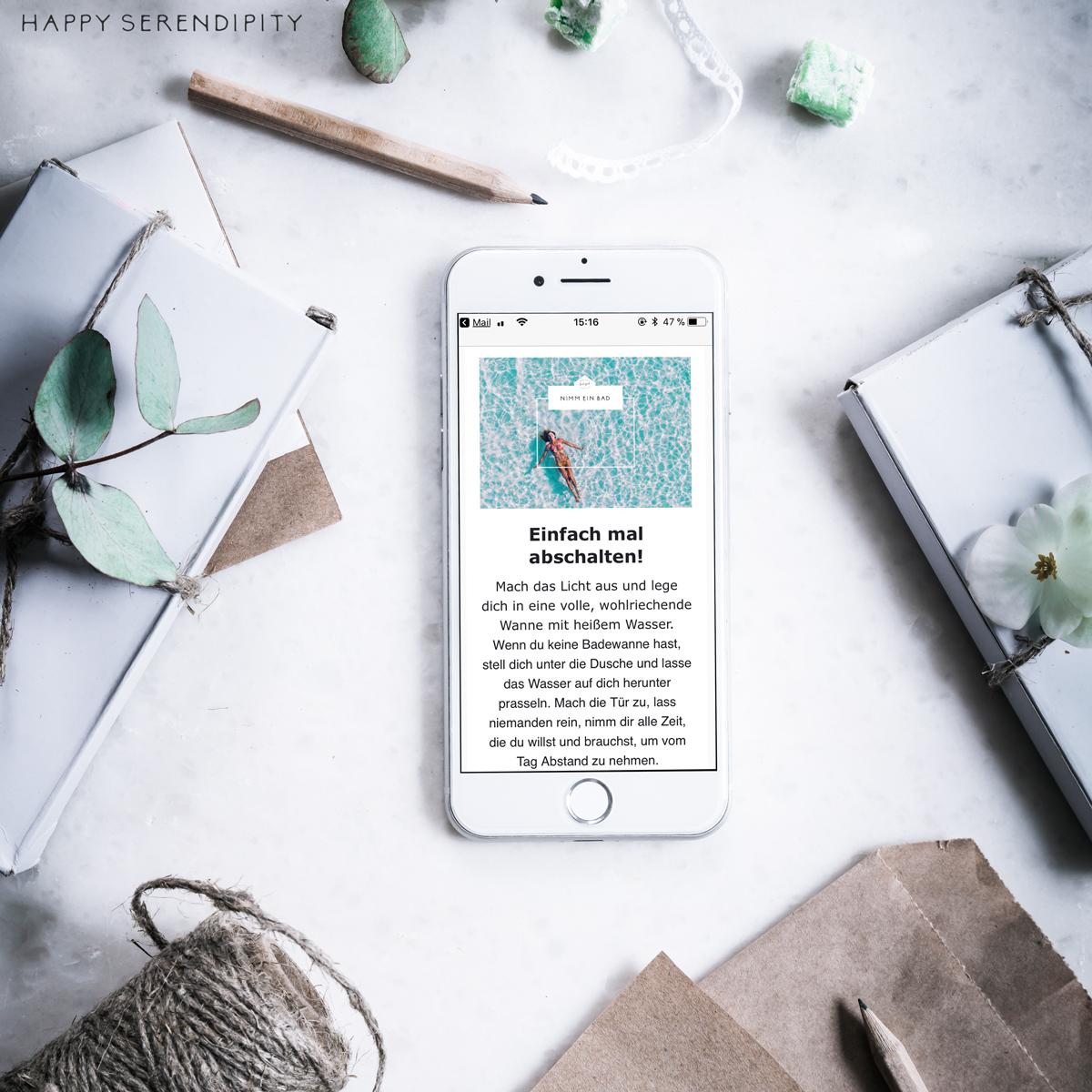 Project Feel Good - 30 Tage Wohlfühlen - erhalte jeden Tag eine inspirierende Email direkt in dein Postfach