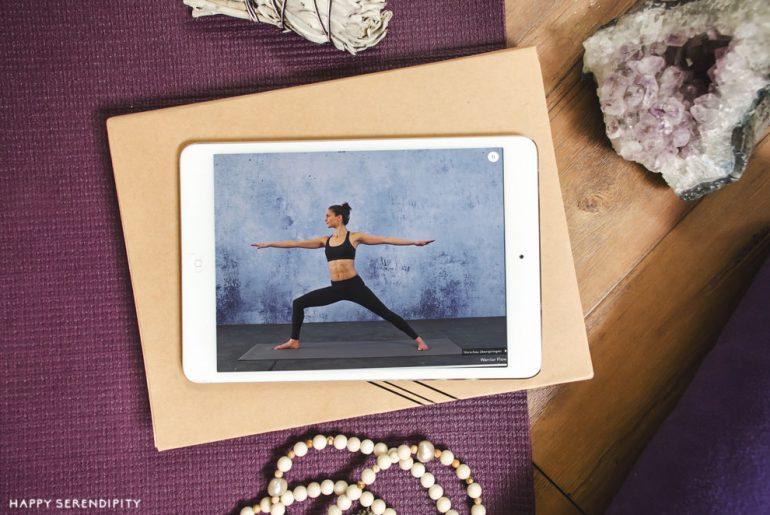 die beste yoga app - asana rebel - eine klare empfehlung von happy serendipity