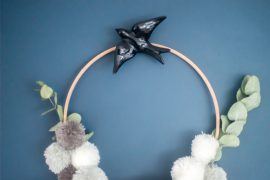 DIY Boho Wallhanger von Happy Serendipity
