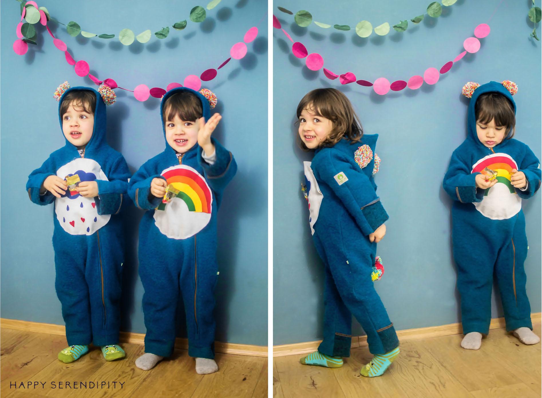 Last Minute Faschingskostüm ohne Nähen für Kinder | Ein Tutorial von Happy Serendipity