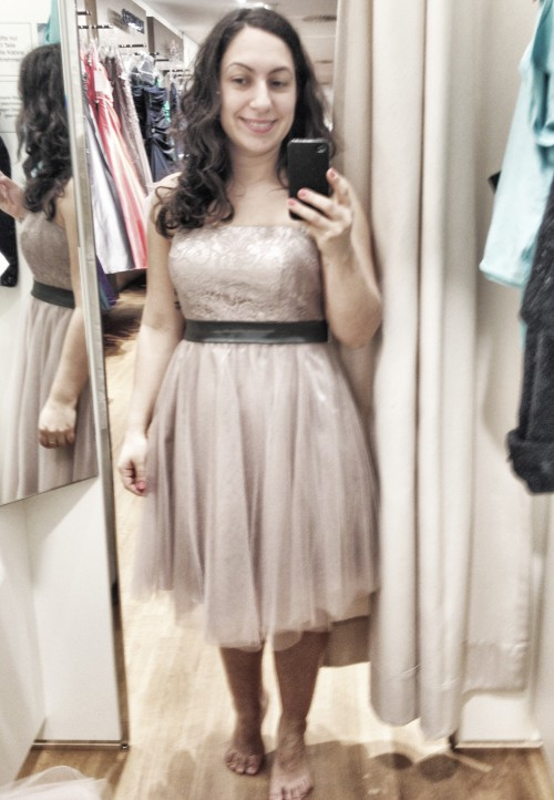 the dress i didn't buy
