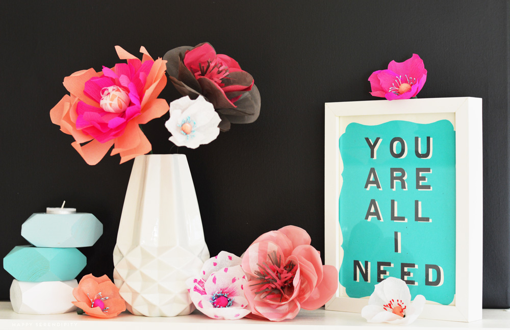 paper to petal_home decoration_happy serendipity