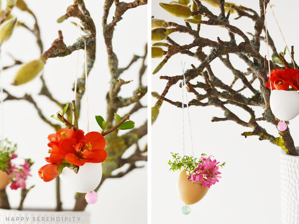 flowers in eggs_urban jungle bloggers_spring decoration_hanging gardens_hanging egg pots_hanging eggs_egg planters_happy serendipity_blumen in eiern_eier dekoration_easter_ostern_oster dekoration