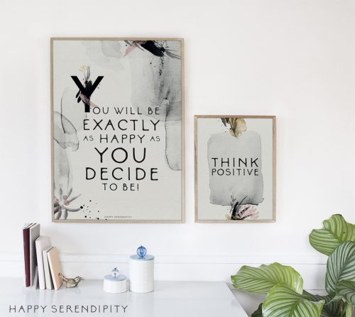 Happy Serendipity Free Printable