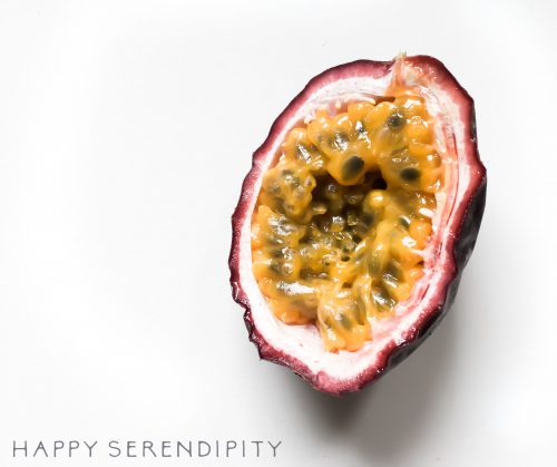 Passionsfrucht - happy serendipity